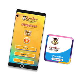 Spell it Right-HANGMAN, Phonetics-Quz App